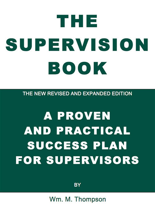 3 – The Supervision Book